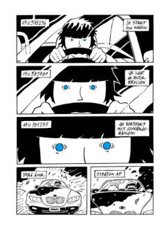 pagina uit strip