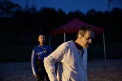 Pieter-Jan De Wyngaert en Kris Cupens in Geel Hesje (foto: Bart Van Merode)