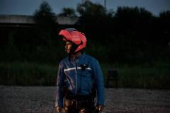 Pieter-Jan De Wyngaert in Geel Hesje (foto: Bart Van Merode)