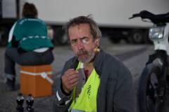 Kris Cuppens in Geel Hesje (foto: Bart Van Merode)