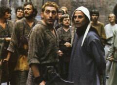 Jan Decleir en Julien Schoenaerts in 'De Leeuw van Vlaanderen' (1984)