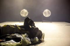 Kris Cuppens in Geel Hesje  (foto: Boumedienne Belbachir)