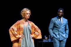 Clara Cleymans & Prince K. Appiah (Foto: Boumediene Belbachir)