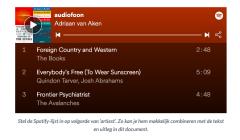 Audifoon - Plaat